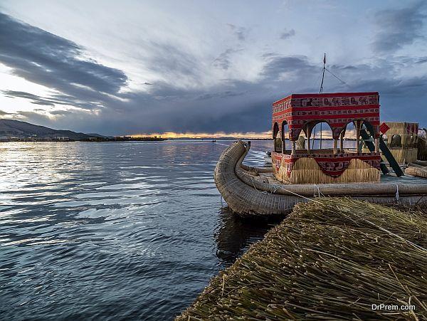 Uros Island, Peru