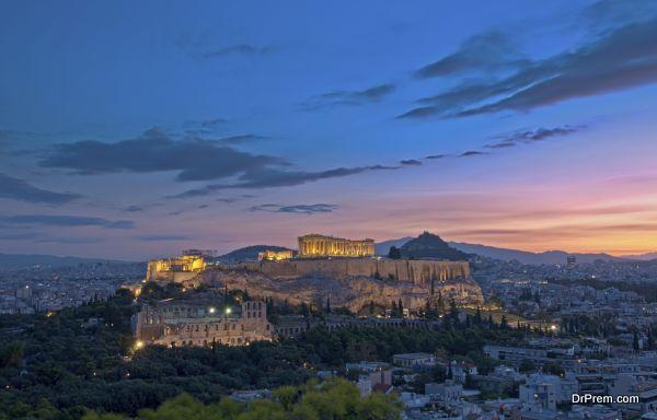 Athens Acropolis at dawn