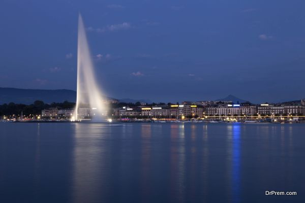 Jet d' Eau Fountain