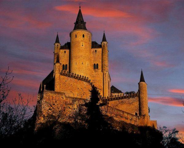 Alcazar castle of Segovia, Spain