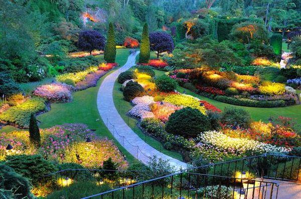 Butchart Gardens , Vancouver Island, British Columbia