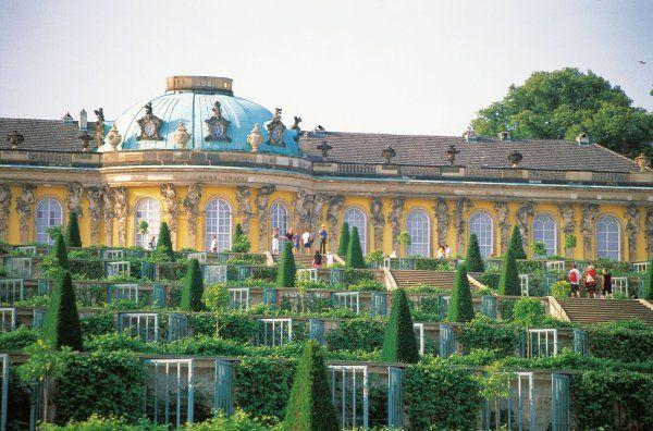 Sans Souci , Postdam , Germany