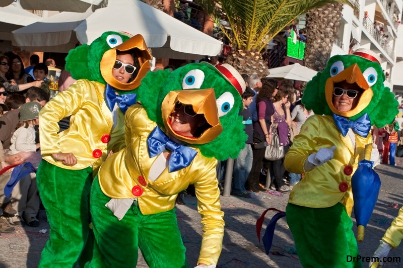 Festivals and Carnivals in Disney