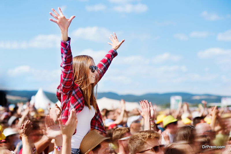 Attend a Music Festival