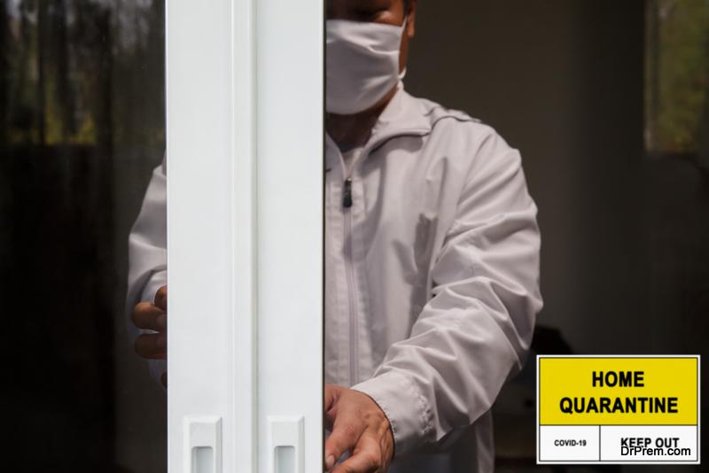 undergo self-quarantine